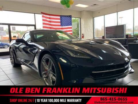 2015 Chevrolet Corvette for sale at Ole Ben Franklin Mitsbishi in Oak Ridge TN