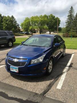 2013 Chevrolet Cruze for sale at Specialty Auto Wholesalers Inc in Eden Prairie MN