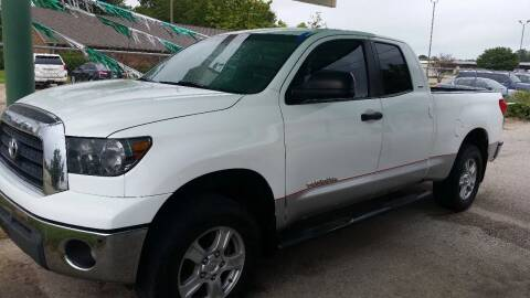 2007 Toyota Tundra for sale at Haigler Motors Inc in Tyler TX