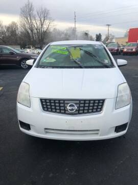2007 Nissan Sentra for sale at L&T Auto Sales in Three Rivers MI