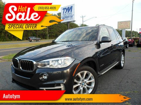 2016 BMW X5 for sale at AUTOTYM INC in Fredericksburg VA