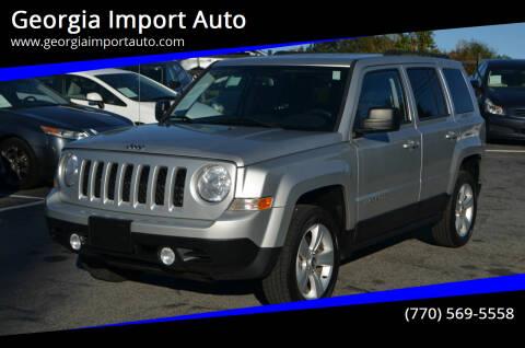 2013 Jeep Patriot for sale at Georgia Import Auto in Alpharetta GA