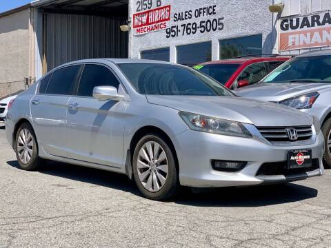 2014 Honda Accord for sale at Auto Source in Banning CA