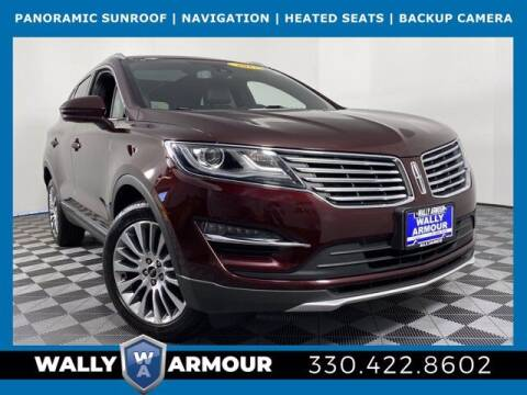 2017 Lincoln MKC for sale at Wally Armour Chrysler Dodge Jeep Ram in Alliance OH