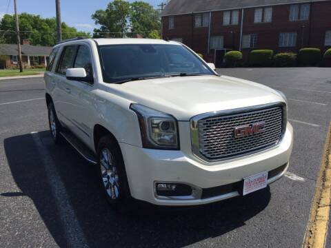 2015 GMC Yukon for sale at DEALS ON WHEELS in Moulton AL