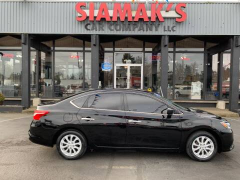 2018 Nissan Sentra for sale at Siamak's Car Company llc in Salem OR
