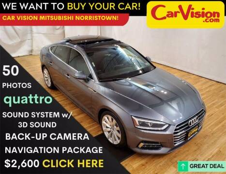 2018 Audi A5 Sportback for sale at Car Vision Mitsubishi Norristown in Trooper PA