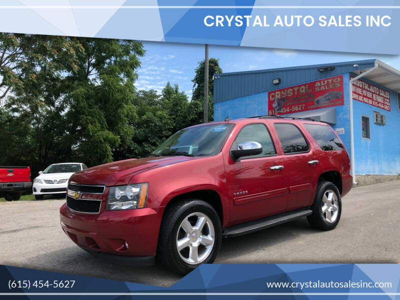 2014 Chevrolet Tahoe for sale at Crystal Auto Sales Inc in Nashville TN