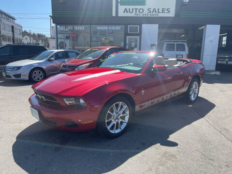 2010 Ford Mustang for sale at Wakefield Auto Sales of Main Street Inc. in Wakefield MA