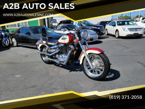 1997 Honda Shadow for sale at A2B AUTO SALES in Chula Vista CA