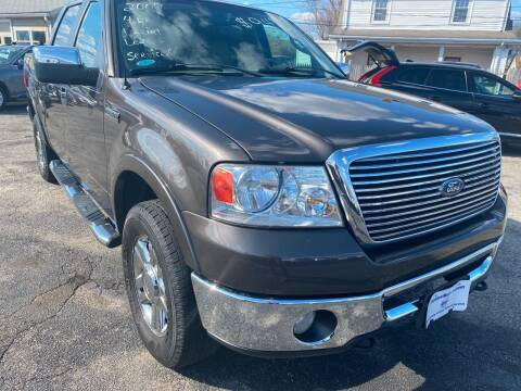 2007 Ford F-150 for sale at Volare Motors in Cranston RI