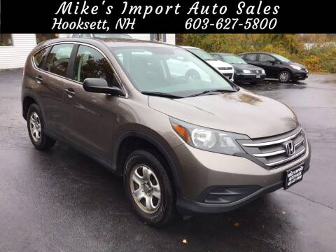 2012 Honda CR-V for sale at Mikes Import Auto Sales INC in Hooksett NH