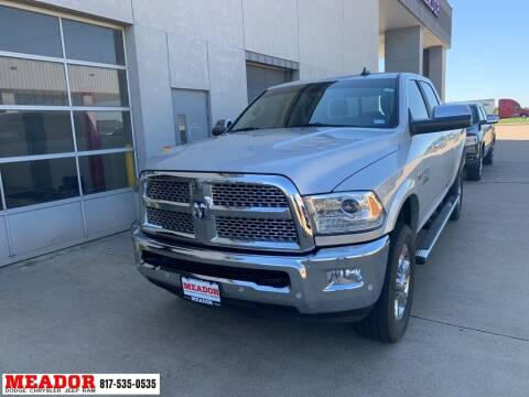 2017 RAM Ram Pickup 2500 for sale at Meador Dodge Chrysler Jeep RAM in Fort Worth TX