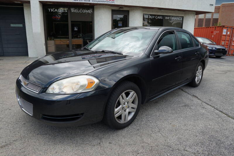 2012 Chevrolet Impala for sale at PA Motorcars in Conshohocken PA
