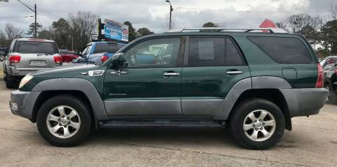 2003 Toyota 4Runner for sale at Steve's Auto Sales in Norfolk VA