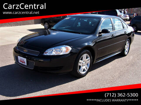 2016 Chevrolet Impala Limited for sale at CarzCentral in Estherville IA