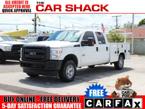 2015 Ford F-250 Super Duty for sale at The Car Shack in Hialeah FL