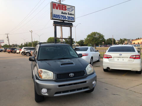 2005 Toyota RAV4 for sale at MB Auto Sales in Oklahoma City OK