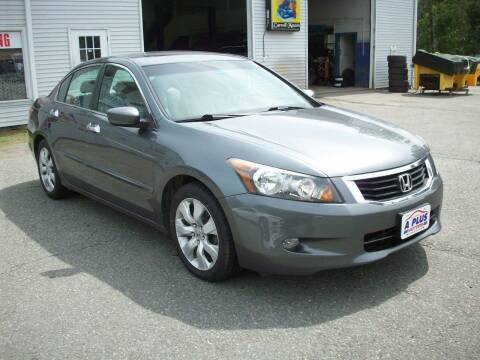 2010 Honda Accord for sale at A-Plus Motors in Alton ME
