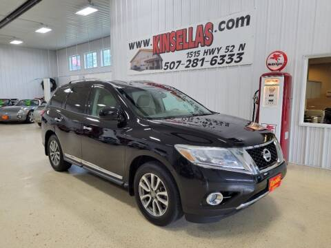 2014 Nissan Pathfinder for sale at Kinsellas Auto Sales in Rochester MN