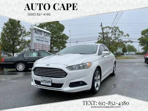 2014 Ford Fusion for sale at Auto Cape in Hyannis MA