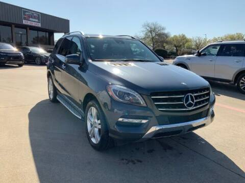 2014 Mercedes-Benz M-Class for sale at KIAN MOTORS INC in Plano TX
