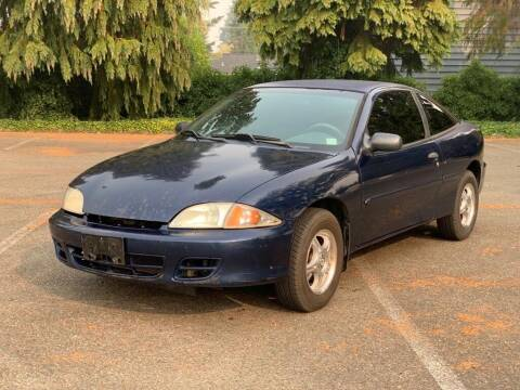 2002 Chevrolet Cavalier for sale at Q Motors in Lakewood WA