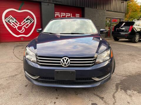 2015 Volkswagen Passat for sale at Apple Auto Sales Inc in Camillus NY