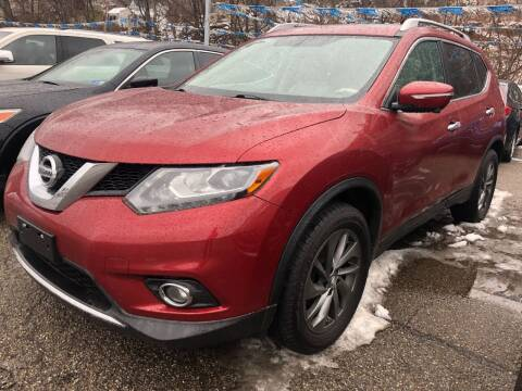 2015 Nissan Rogue for sale at Matt Jones Preowned Auto in Wheeling WV