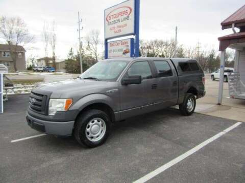2010 Ford F-150 for sale at Stoufers Auto Sales, Inc in Madison Lake MN