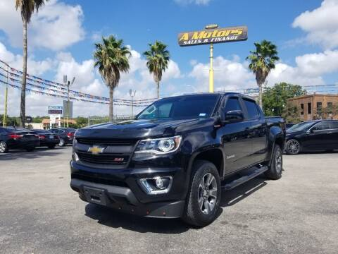 2016 Chevrolet Colorado for sale at A MOTORS SALES AND FINANCE in San Antonio TX