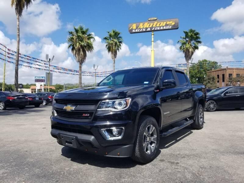 2016 Chevrolet Colorado for sale at A MOTORS SALES AND FINANCE in San Antonio TX