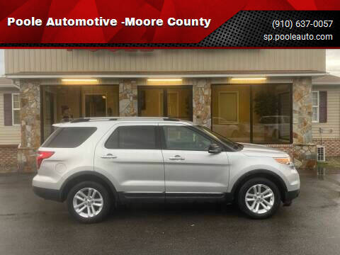 2013 Ford Explorer for sale at Poole Automotive in Laurinburg NC