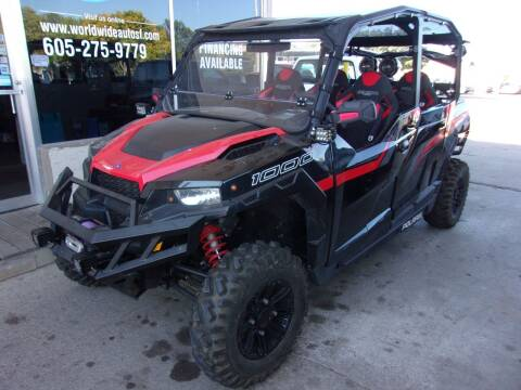 2018 Polaris General 4 1000 EPS for sale at World Wide Automotive in Sioux Falls SD