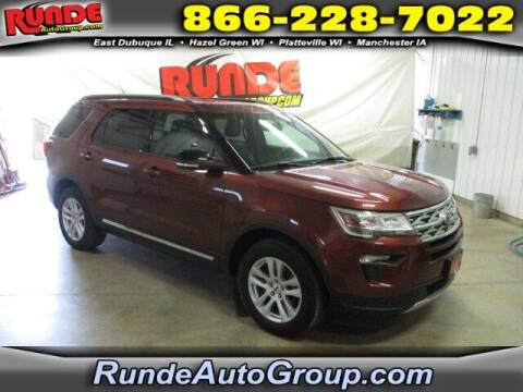 2018 Ford Explorer for sale at Runde PreDriven in Hazel Green WI