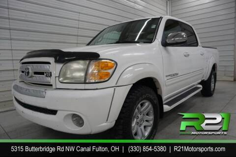 2004 Toyota Tundra for sale at Route 21 Auto Sales in Canal Fulton OH