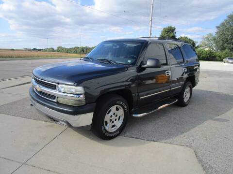 2004 Chevrolet Tahoe for sale at Dunlap Motors in Dunlap IL