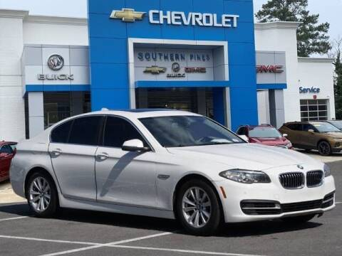 2014 BMW 5 Series for sale at PHIL SMITH AUTOMOTIVE GROUP - SOUTHERN PINES GM in Southern Pines NC