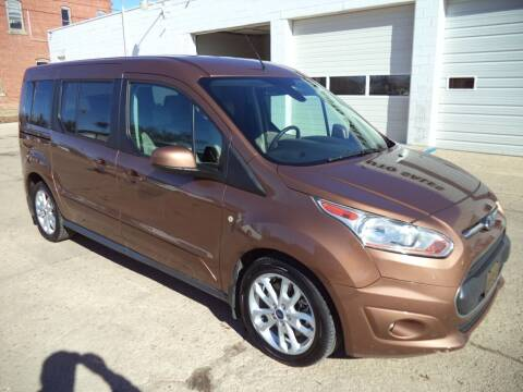2014 Ford Transit Connect Wagon for sale at Apex Auto Sales in Coldwater KS