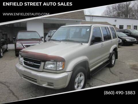 1999 Isuzu Trooper for sale at ENFIELD STREET AUTO SALES in Enfield CT
