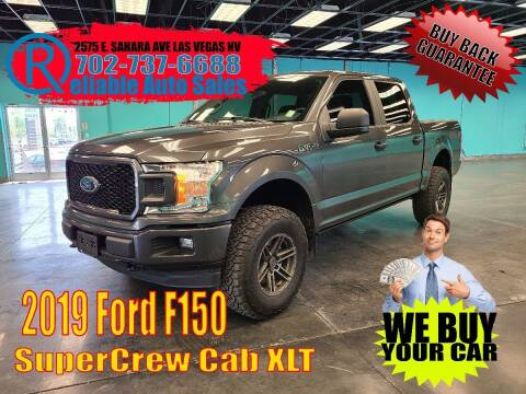 2019 Ford F-150 for sale at Reliable Auto Sales in Las Vegas NV