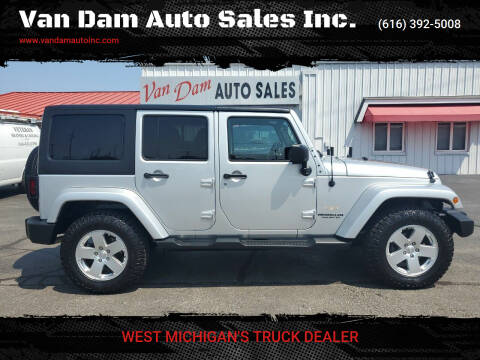 2012 Jeep Wrangler Unlimited for sale at Van Dam Auto Sales Inc. in Holland MI