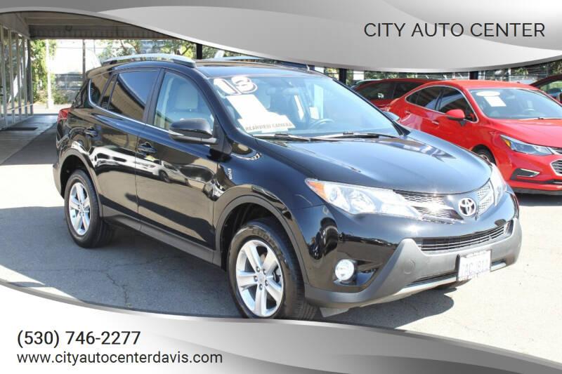 2013 Toyota RAV4 for sale at City Auto Center in Davis CA