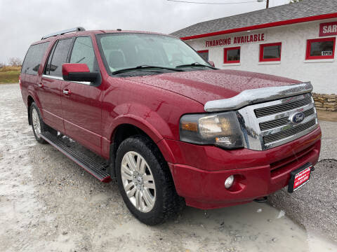 2013 Ford Expedition EL for sale at Sarpy County Motors in Springfield NE