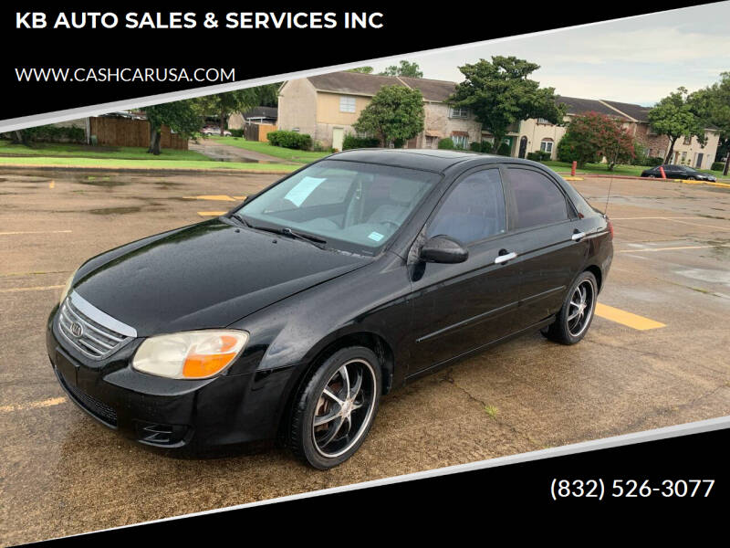2009 Kia Spectra for sale at KB AUTO SALES & SERVICES INC in Houston TX
