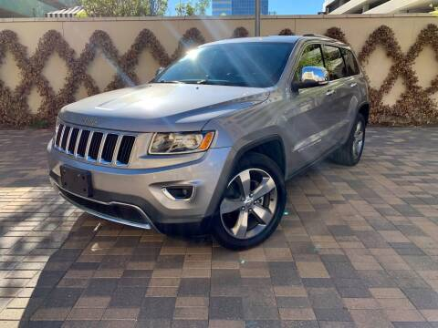 2016 Jeep Grand Cherokee for sale at ROGERS MOTORCARS in Houston TX