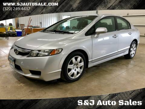 2009 Honda Civic for sale at S&J Auto Sales in South Haven MN