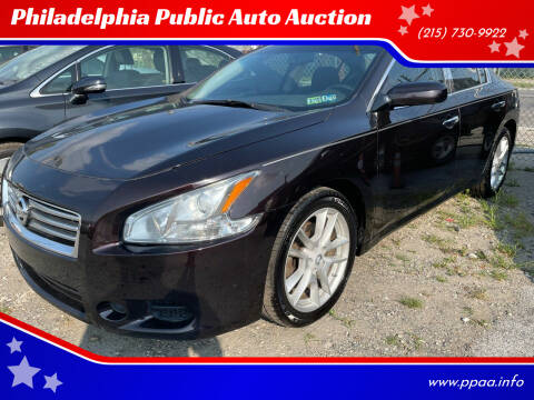 2012 Nissan Maxima for sale at Philadelphia Public Auto Auction in Philadelphia PA