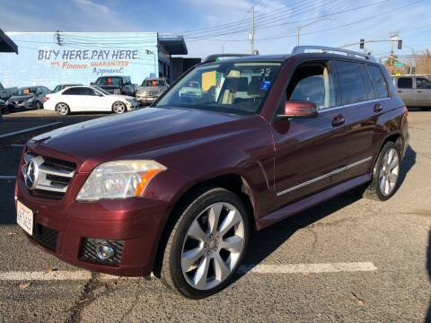 2010 Mercedes-Benz GLK for sale at All Cars & Trucks in North Highlands CA