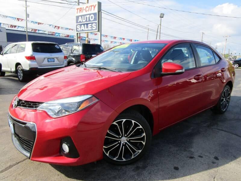 2016 Toyota Corolla for sale at TRI CITY AUTO SALES LLC in Menasha WI